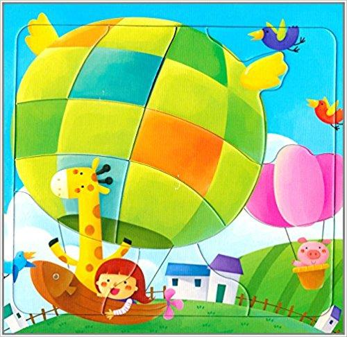 邦臣小红花·动手动脑玩拼图6(2-3岁)