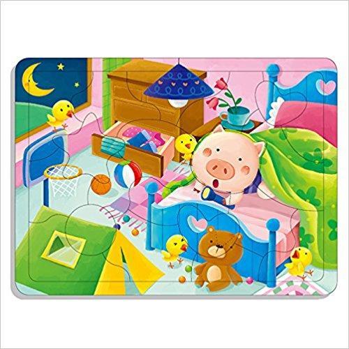 邦臣小红花·动手动脑玩拼图8(3-4岁)(20块)
