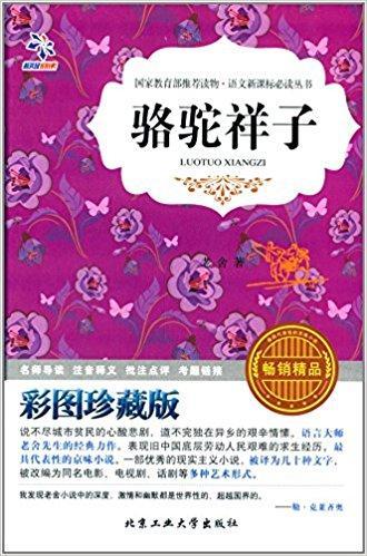 语文新课标必读丛书:骆驼祥子(彩图珍藏版)