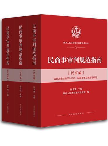 民商事审判规范指南