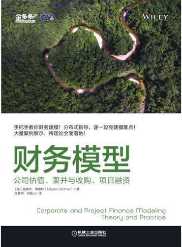 财务模型:公司估值、兼并与收购、项目融资