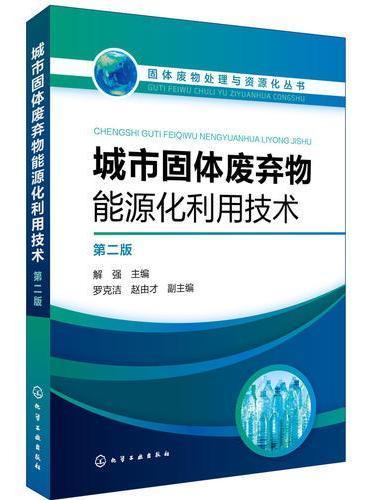 固体废物处理与资源化丛书--城市固体废弃物能源化利用技术(第二版)
