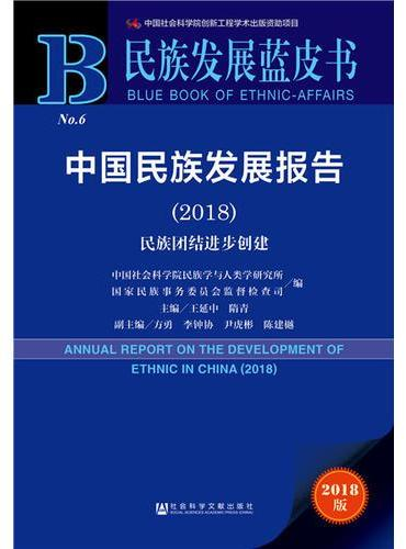 民族发展蓝皮书:中国民族发展报告(2018)