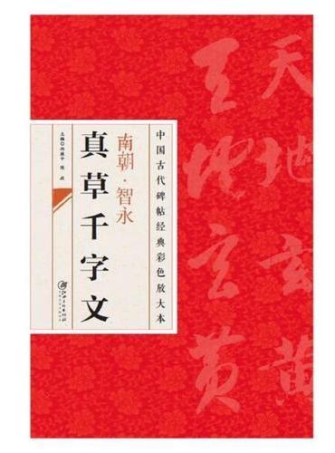 中国古代碑帖经典彩色放大本:智永真草千字文(新版)