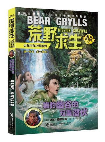 荒野求生少年生存小说系列12(拓展版):猎豹幽谷的双重潜伏