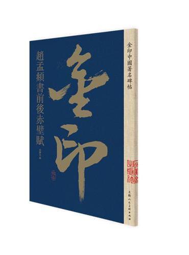 金印·赵孟頫书前后赤壁赋