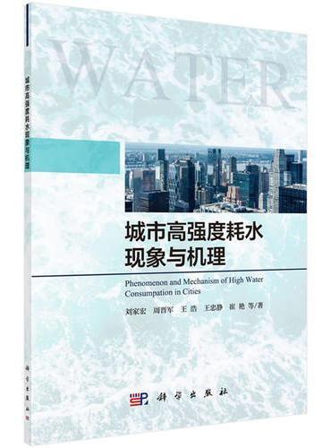 城市高强度耗水现象与机理