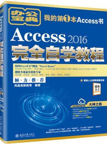 Access 2016完全自学教程