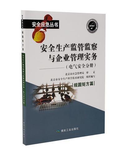 安全生产监管监察与企业管理实务  电气安全分册
