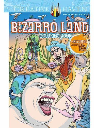 Creative Haven Bizarro Land Coloring Book