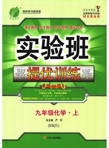实验班提优训练 初中 化学 九年级 (上) 人教版18Y