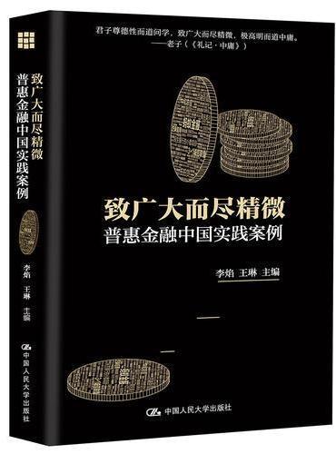 致广大而尽精微:普惠金融中国实践案例