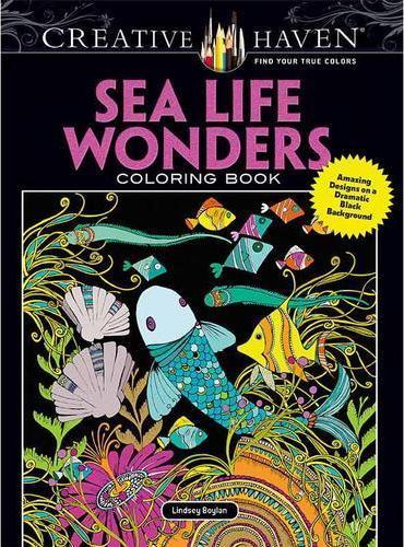 Creative Haven Sea Life Wonders Coloring Book