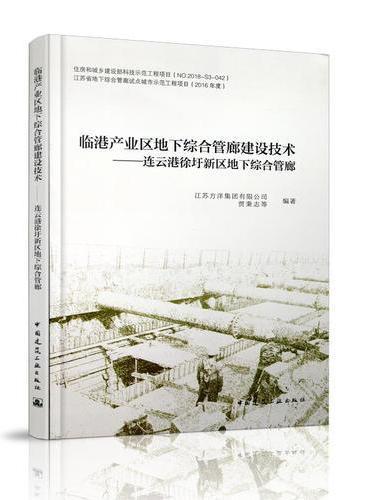 临港产业区地下综合管廊建设技术——连云港徐圩新区地下综合管廊