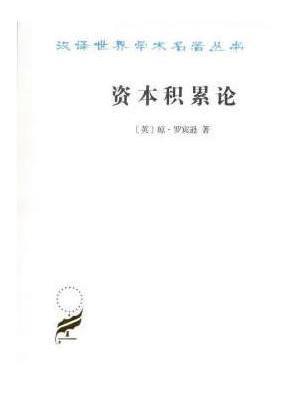 资本积累论(汉译名著本17)