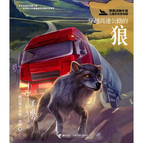 黑鹤动物小说儿童彩绘拼音版·穿越高速公路的狼