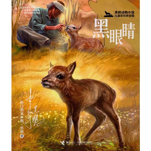 黑鹤动物小说儿童彩绘拼音版·黑眼睛