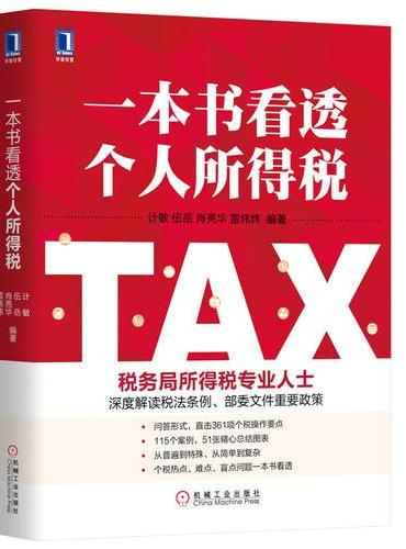 一本书看透个人所得税