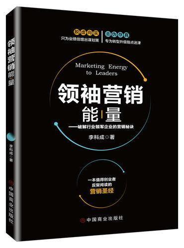 领袖营销能量:破解行业领军企业的营销秘诀