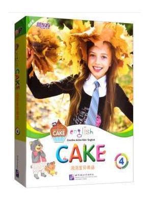 新东方 泡泡宝贝英语4(English Cake 4)(点读版) 教材 幼儿英语 启蒙 幼儿园课本