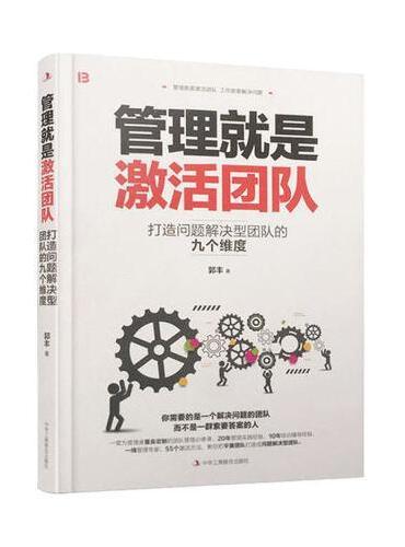 管理就是激活团队:打造问题解决型团队的九个维度