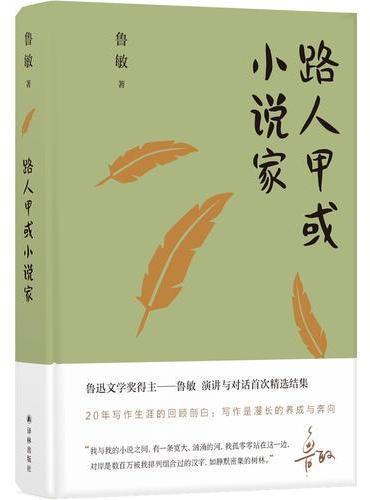 鲁敏随笔集:路人甲或小说家