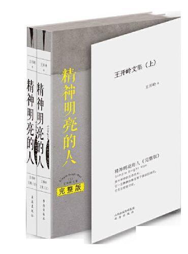 精神明亮的人:王开岭文集.完整版