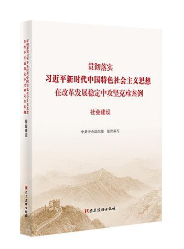 社会建设(贯彻落实习近平新时代中国特色社会主义思想在改革发展稳定中攻坚克难案例)