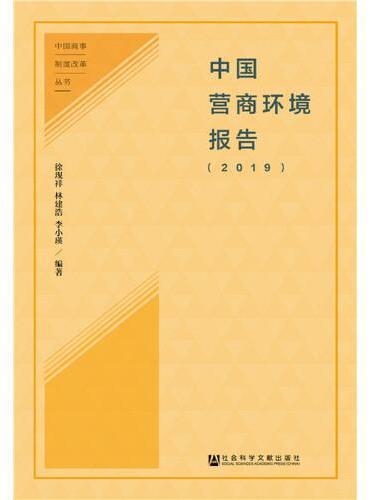 中国营商环境报告(2019)