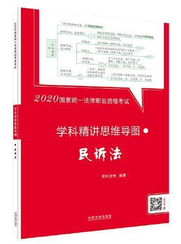 司法考试2020 2020国家统一法律职业资格考试学科精讲思维导图:民诉法