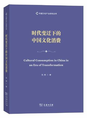 时代变迁下的中国文化消费(中国文化产业研究丛书)