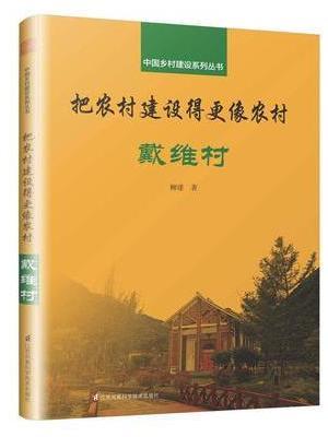中国乡村建设系列丛书 把农村建设得更像农村 戴维村(与乡建领军人物孙君一同投入乡村振兴大业)