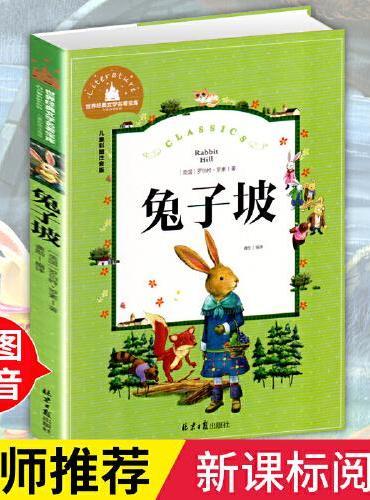 兔子坡 彩图注音版 一二三年级课外阅读书必读世界经典儿童文学少儿名著童话故事书
