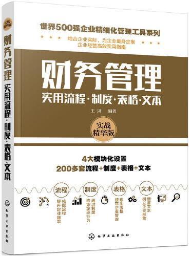 世界500强企业精细化管理工具系列--财务管理实用流程·制度·表格·文本