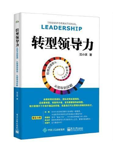 转型领导力:从技术到管理,从管理到领导,从领导到战略