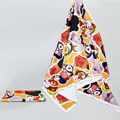 美猴王连环画版·美猴王西游记卡通浴巾