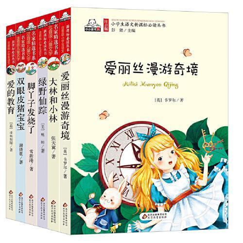 注音版儿童文学名家精选书系(大林和小林、爱丽丝、绿野仙踪、脚丫子、猪宝宝、爱的教育)套装共6本