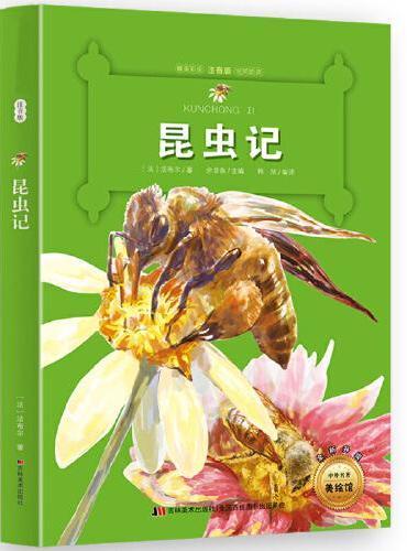 昆虫记 中外名著小书坊 彩绘注音版新版