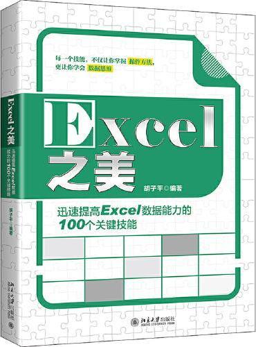 Excel之美:迅速提高Excel数据能力的100个关键技能