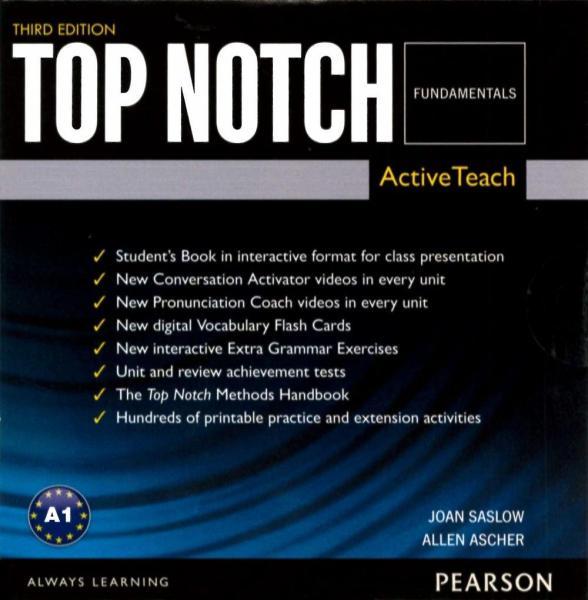 Top Notch 3/e (Fundamentals) ActiveTeach (DVD-ROM/1片)