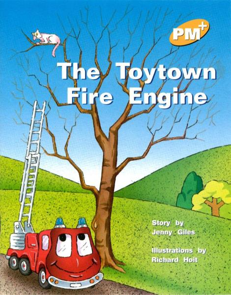 PM Plus Yellow (6) The Toytown Fire Engine