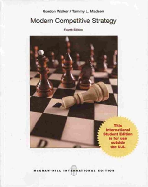 Modern Competitive Strategy(四版)