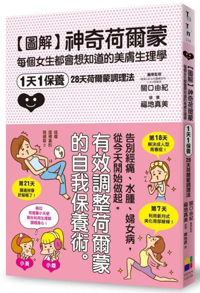 圖解神奇荷爾蒙:每個女生都會想知道的美膚生理學