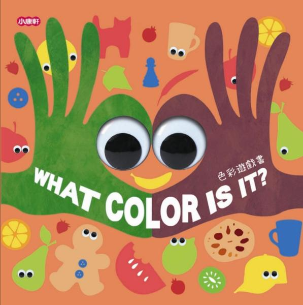 色彩遊戲書:WHAT COLOR IS IT·