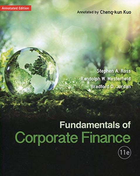 Fundamentals of Corporate Finance (Annotation Edition)(11版)
