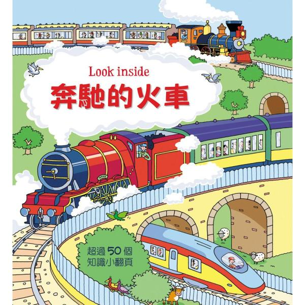 Look inside–奔馳的火車