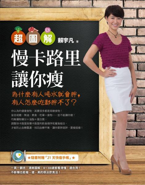 【超圖解】慢卡路里讓你瘦:為什麼有人喝水就會胖,有人怎麼吃都胖不了·