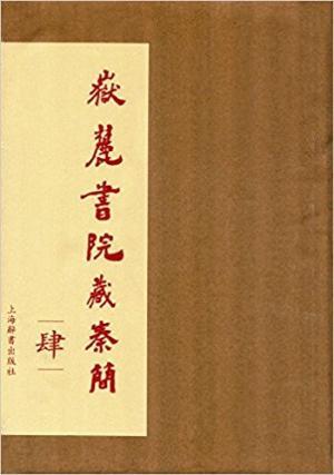 岳麓书院藏秦简(肆)